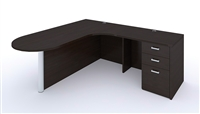 Cherryman Amber L shaped Desk