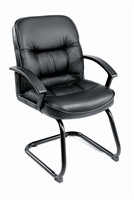 Boss Mid Back Leatherplus Guest Chair
