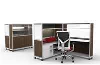 Mobile Cubicle Workstations