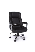 BIG AND TALL ERGONOMIC LEATHER OFFICE CHAIR WITH TABLET