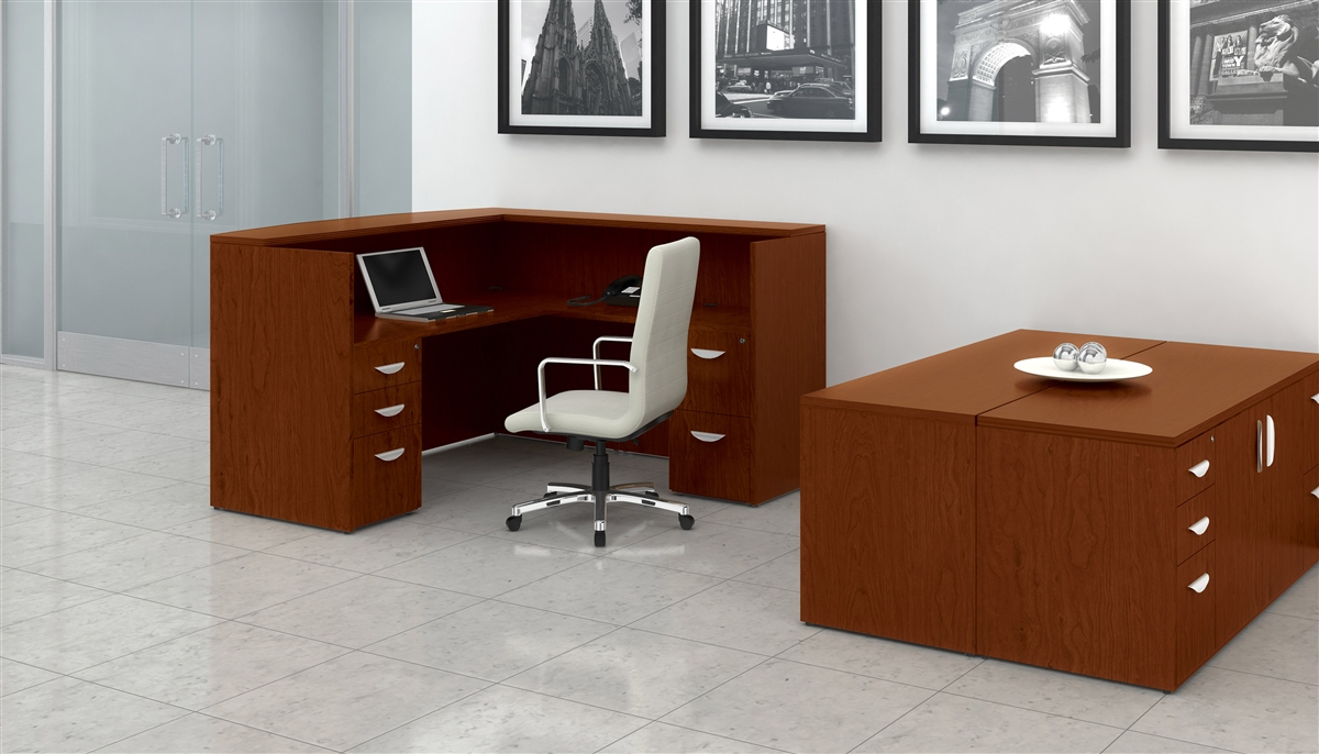 wood veneer executive desks from boca office furniture