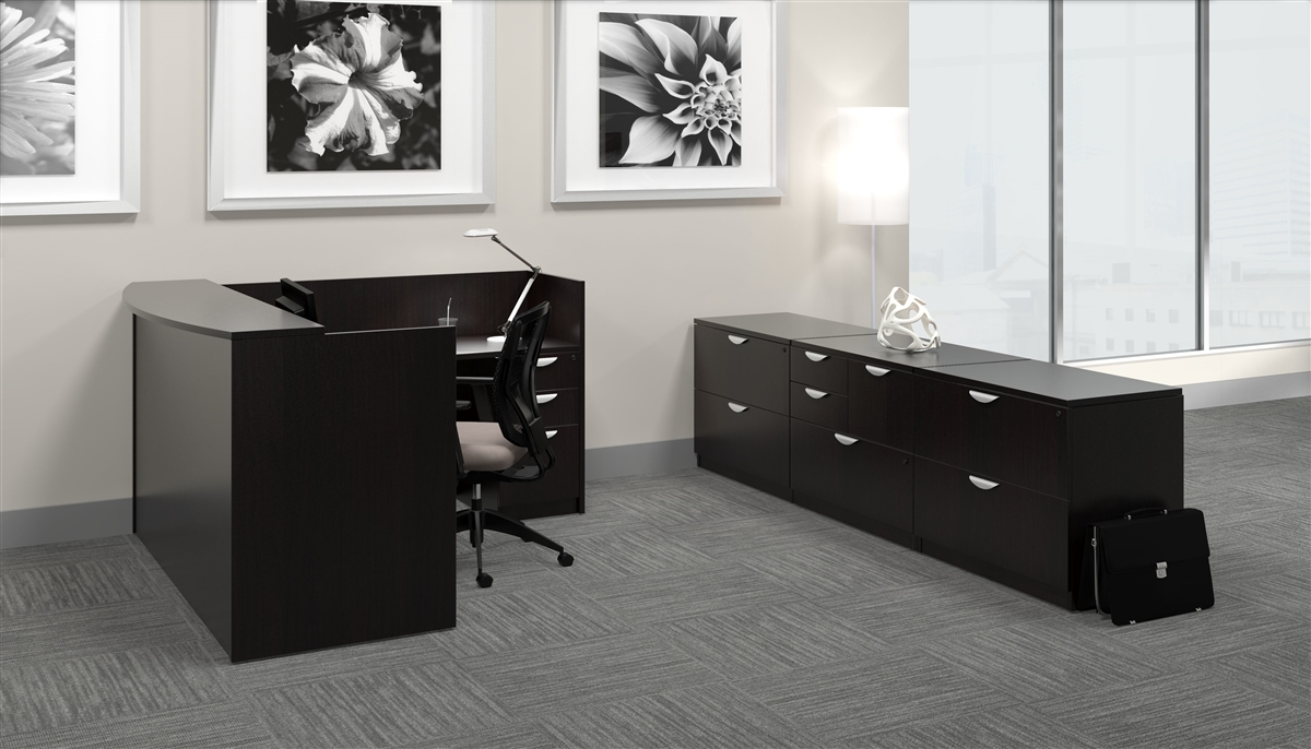 Reception Desks For The Office Lobby Or Waiting Room Area