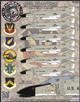 1/48 F-4C Gull Gray USAF Phantoms