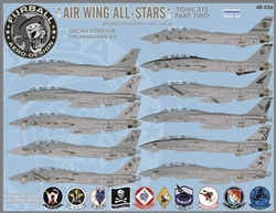 1/48 Air Wing All Stars: Tomcats Part II