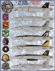 1/48 Air Wing All Stars: Super Hornets Part III