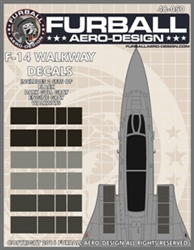1/48 F-14 USN Walkways