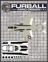 1/48 F-4 Vinyl Mask Set for the Academy Kit