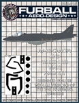 1/48 AV-8B Vinyl Mask Set for the Hasegawa Kit