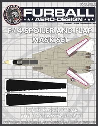 1/48 F-14 Spoiler & Flap Mask Set