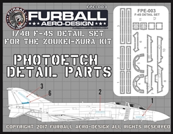 """F-4S Canopy and Airframe Detail Set"""