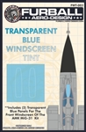 1/48 MIG-31 Windscreen Tint For the AMK Kit