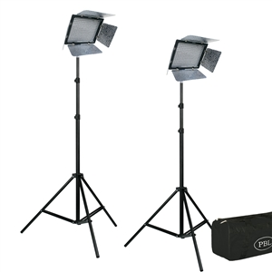 YN-600 Yongnuo 3200K-5500K LED Video Lighting Kit With Batteries and Remote