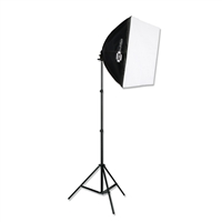 PBL CONTINUOUS FLUORESCENT E-Z SOFTBOX KIT FOR PHOTO/VIDEO LIGHTING
