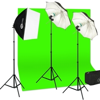 Chroma Key Studio Lighting Kit for Photography And Video Production 900 Watts