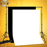 PBL BACKDROP SUPPORT SYSTEM WITH 9'X15'  MUSLINS