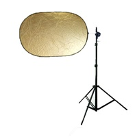 "5-in-1 36""x24"" COLLAPSIBLE REFLECTOR  AND DIFFUSION PANEL"