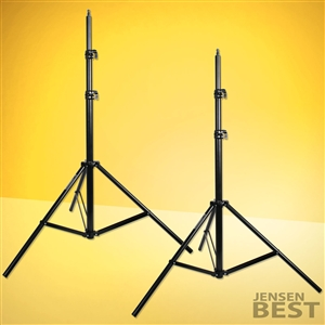 Photographic Light Stands 7 1/2ft For Photography And Video Lights Set Of Two