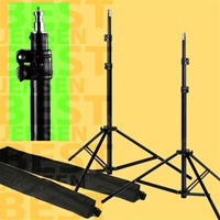 PBL 10 FOOT LIGHT STANDS SET OF TWO FOR PHOTO/VIDEO LIGHTING