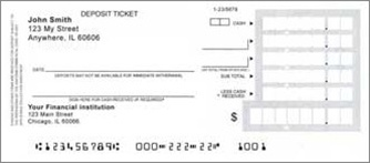 how to read a deposit slip
