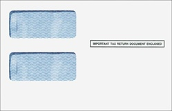 1099 2up Standard Double Window Envelope