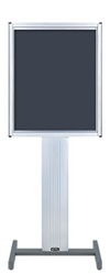 "22"" x 28"" Directrac Sign Frame Display Stand with Standard Base"