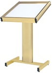 "22"" x 28"" Directrac Podium Display Stand with Standard Base"