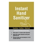Instant Hand Sanitizer Sign