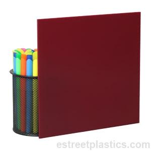 1 8 Quot X 6 Quot X 12 Quot 2240 Maroon Plexiglass Acrylic Sheet