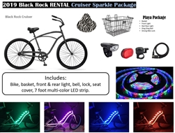 2018 Black Rock Cruiser Bike Rental MENS