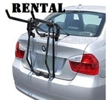 2020 2 Bike Trunk Rack RENTAL