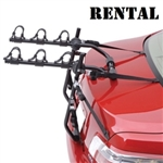 2020 3 Bike Trunk Rack RENTAL
