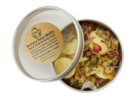 CALM Natural Eco Friendly Skin Care Buttery Rose Hand Soak Body Rub - Stretch Marks - Bath Melts