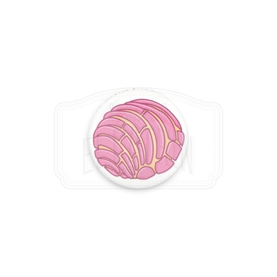 "Pan Dulce ""Concha"" 1"" (Inch) Button"