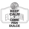 Keep Calm Y Come Pan Dulce Decal