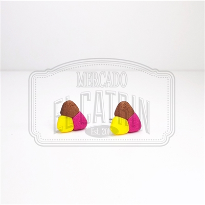 Payaso Cookie Stud Earrings