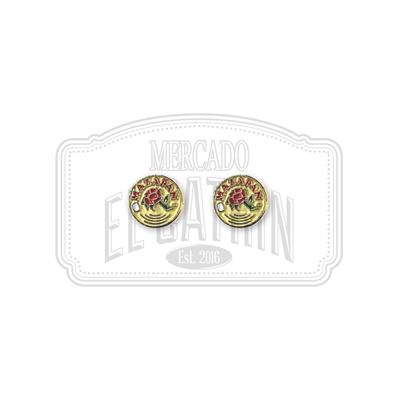 Mazapan Soft Enamel Earrings