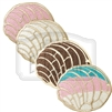 Pan Dulce (Concha) Embroidered Patch