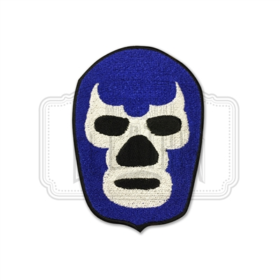 Blue Demon Embroidered Patch