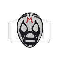 Mil Mascaras Embroidered Patch
