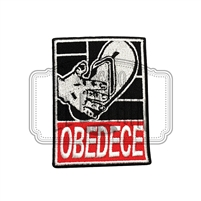 Obedece Embroidered Patch