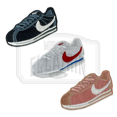 Cortez Embroidered Patch