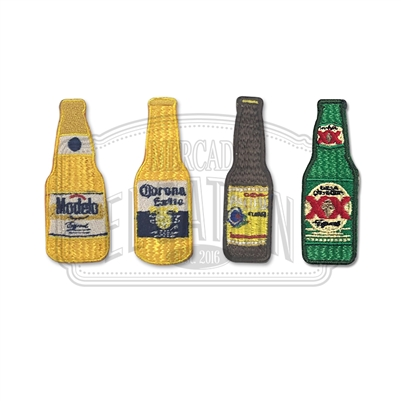Beer Mini Embroidered Patches