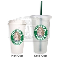 Rivera Coffee SBux Reusable Tumbler