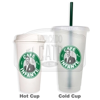 Cafe Infante SBux Reusable Tumbler