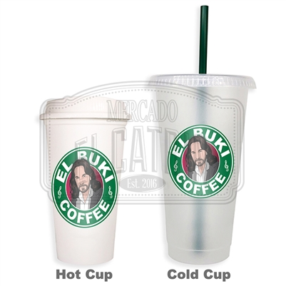 El Buki Coffee SBux Reusable Tumbler