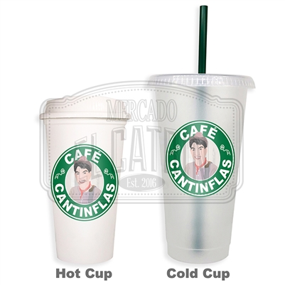 Cafe Cantinflas SBux Reusable Tumbler