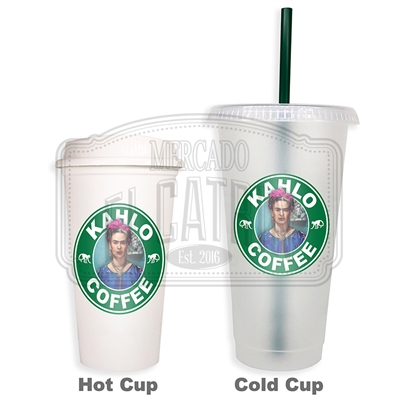 Cafe Kahlo 3 SBux Reusable Tumbler