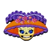 """Catrina"" Wooden Magnet"