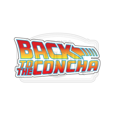 Back to the concha