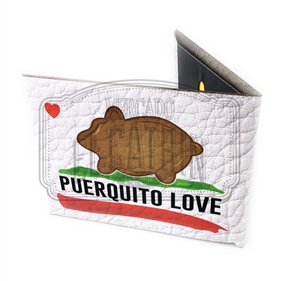 Puerquito Love - Paper Wallet